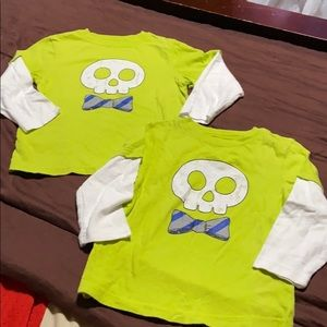Toddler Pullover Long Sleeve Tees. EUC!